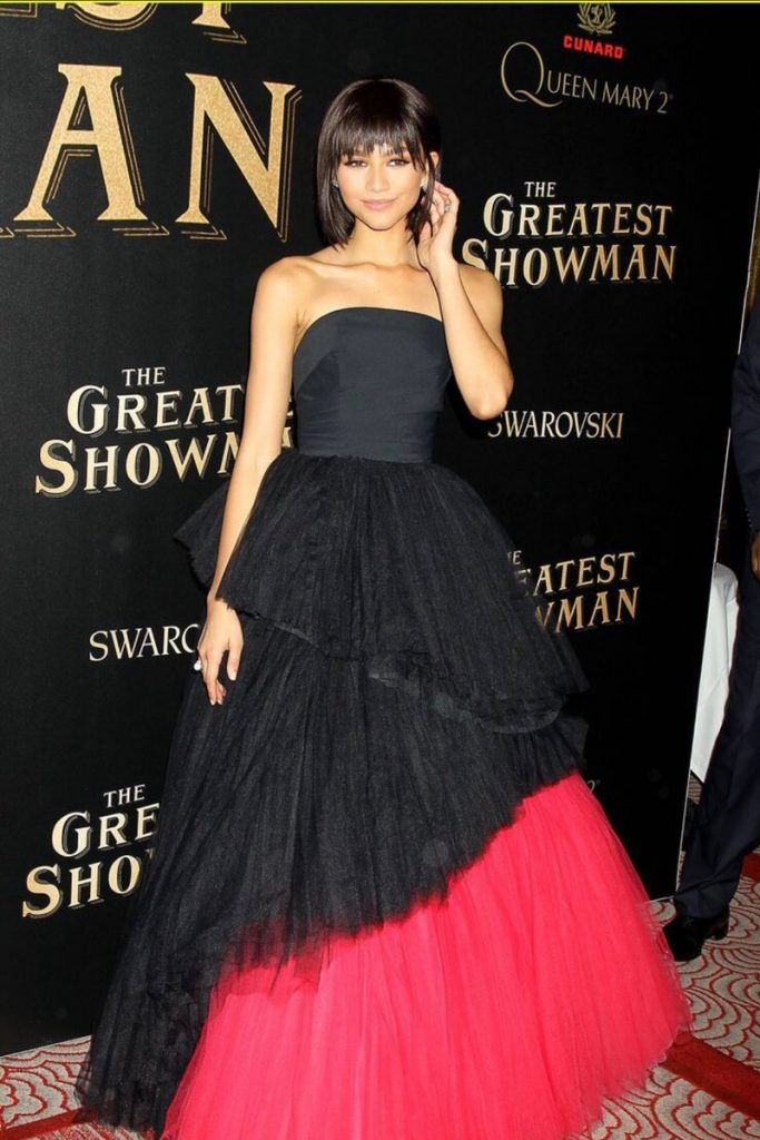 Zendaya Coleman In Viktor Amp Rolf The Greatest Showman World Premiere Fashionsizzle