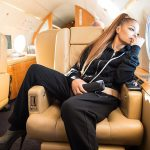 Janet Jackson On Plane  -State Of The World Tour  Instagram Pic