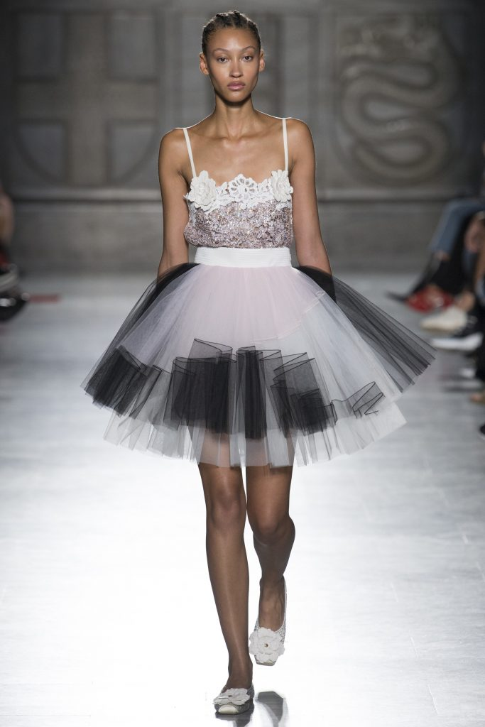 tutu runway tulle skirts trend spring fausto puglisi fashionsizzle