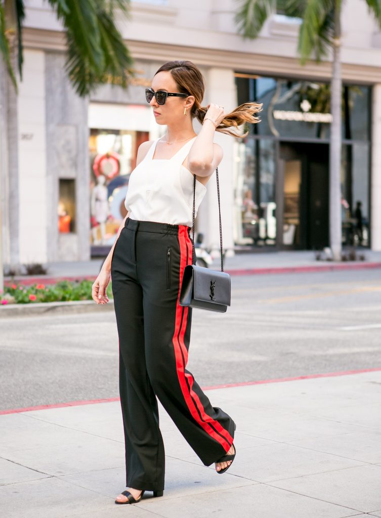 Stripe Track Pants Fashion Trend For 2017