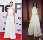 Alison Brie In Brandon Maxwell At 'The Post' Washington, DC Premiere