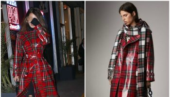bella-hadid-in-burberry -cout-in-new-york