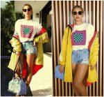 Beyoncé  In  Proenza Schouler  & DSquared2 – Instagram Pic