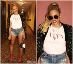 Beyonce In  Valentino  &   Julien Macdonald    @ 4:44 Tour Wrap Party