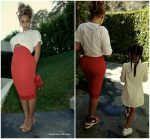 Beyonce Knowles In Givenchy – Instagram Pic