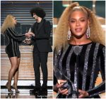 Beyonce in LaQuan Smith –   Presents Colin Kaepernick  With Muhammad Ali Legacy Award