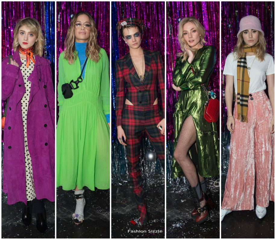 burberry–cara-delevingne-christmas-party-in-london