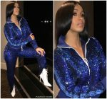 Cardi B In Off-White  Tracksuit – Instagram Pic