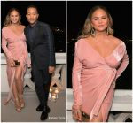 Chrissy Teigen  In Rhea Costa​ – GQ and Dior Homme's Private Dinner