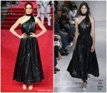 Daisy Ridley  In Calvin Klein  – 'Star Wars: The Last Jedi' London Premiere