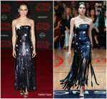 Daisy Ridley in Monse @ 'Star Wars: The Last Jedi' LA Premiere