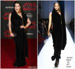 Dita Von Teese  In Jean Paul Gaultier – Star Wars  : The Last Jedi LA Premiere