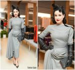 Dita Von Teese In Vintage John Galliano – Rimowa x Alexandre Arnault Pop-Up Event