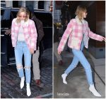 Gigi Hadid in Saks Potts – Out In New York