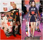 Gwen Stefani In Elie Saab – Westfield London Christmas Lights Switch On