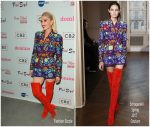 Gwen Stefani In Schiaparelli Couture  At Domino x Fred Segal And CB2 Pop Up