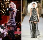Gwen Stefani In Yanina Couture  –  NBC Christmas Special in New York