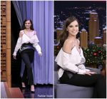 Hailee Steinfeld In Mugler – The Tonight Show Starring Jimmy Fallon