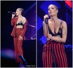 Halsey  In   Tophop Suit  – 103.5 KISS FM's Jingle Ball 2017