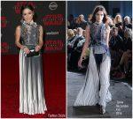 Jenna Ortega In  Gosia Baczyńska  – Star Wars : The Last Jedi LA Premiere
