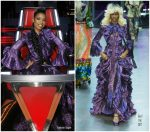Jennifer Hudson In Gucci – The Voice