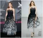 Jessica Chastain in Oscar de la Renta – 'Molly's Game' New York Premiere