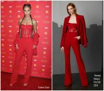 Joan Smalls In Pamella Roland – 'The Assassination Of Gianni Versace: American Crime' New York Screening