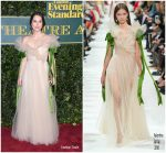 Keira Knightley In Valentino – The London Evening Standard Theatre Awards