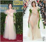 Keira Knightley In Valentino – The London Evening Standard Theatre Awards