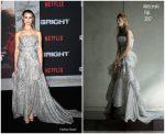 Lucy Fry In Maticevski – Netflix's 'Bright' LA Premiere
