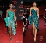 Lupita Nyong'o In Halpern  – Star Wars  : The Last Jedi LA Premiere