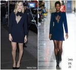 Margot Robbie In Givenchy    @ Good Morning America