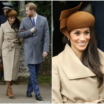 meghan-markle-in-sentaler-coat-christmas-day-church-service-in-England