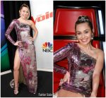 Miley Cyrus In Cristahlea – The Voice Finale