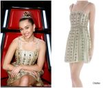 Miley Cyrus  In Cristahlea  – The Voice Semi-Finale