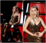 Miley Cyrus In Vintage Bob Mackie – The Voice