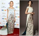 Nicole Richie In Zac Posen At  2017 Kennedy Center Honors
