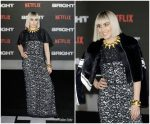 Noomi Rapace In Louis Vuitton – Netflix's 'Bright' London Premiere