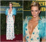 Poppy Delevingne In Prada – London Evening Standard Theatre Awards