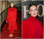 Rebecca Ferguson In Ralph Lauren At  'The Greatest Showman' World Premiere
