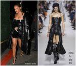 Rihanna In  Christian Dior – Jay-Z's 4:44 Concert