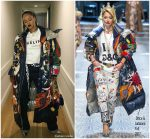 Rihanna  In Dolce & Gabbana – Instagram pic