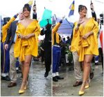 "Rihanna  In  Hellesy  @  Unveiling Of  ""Rihanna Drive"" in Barbados"