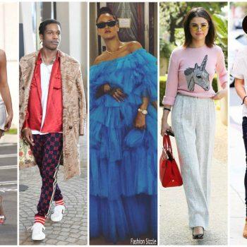 rihanna-selena-harry-styles-top fashion-influencers-of-2017