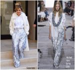 Rita Ora In  Michael Kors Collection & Max Mara –  Out In New York