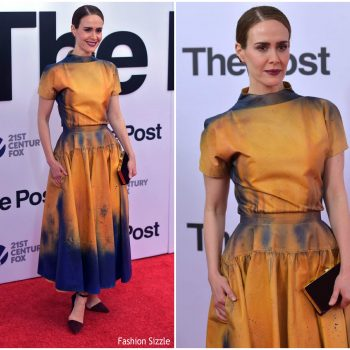 sarah-paulson-in-calvin-klein-the-post=washington-dc-premiere