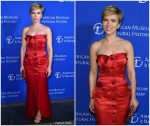 Scarlett Johansson In Vintage Yves Saint Laurent @ American Museum Of Natural History's 2017 Museum Gala