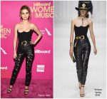 Selena Gomez In Versace At  Billboard Women In Music 2017