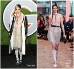 Sofia Boutella  In Prada – 2017 GQ Men of the Year Party