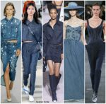 Spring 2018 Runway Fashion Trend – Denim